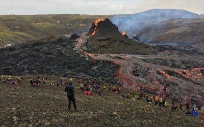 Volcanic eruptions on Reykjanes Peninsula